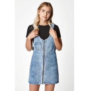 Pacsun Denim Overall Dress